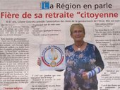 61 Article Liliane association amis gendarmerie